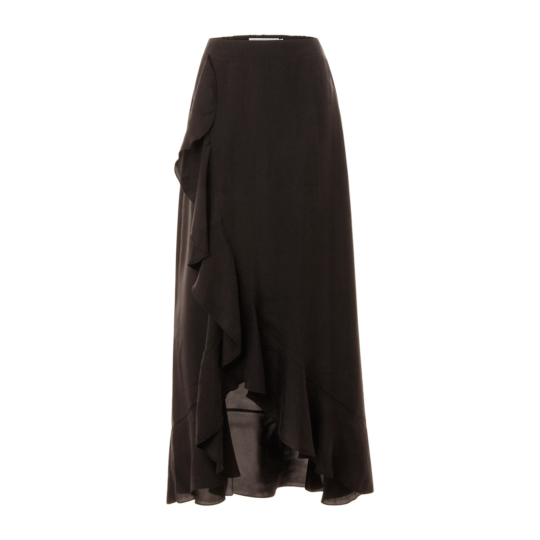 COSTER LONG SKIRT WITH RUFFLE