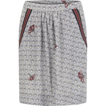 Load image into Gallery viewer, COSTER SKIRT IN SAVANNAH PRINT WITH GATHERING