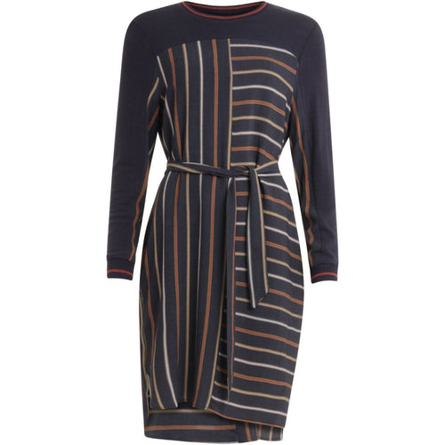 COSTER DRESS IN STRIPE PRINT
