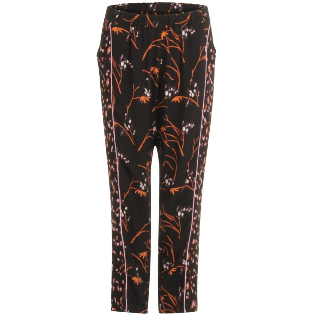 COSTER PANTS IN HIBISCUS PRINT