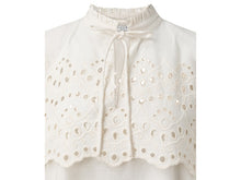 Load image into Gallery viewer, YAYA WOVEN TOP EMBROIDERY ANGLAISE
