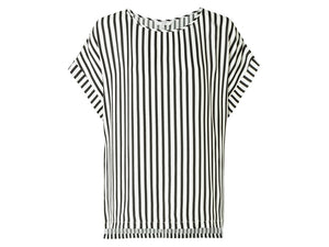 YAYA WOVEN TOP STRIPED