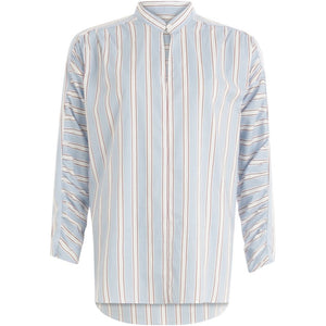 COSTER Stripe Shirt with Gatherings