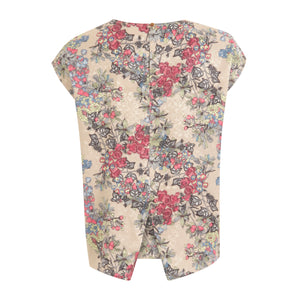 COSTER Blouse w. winter berry print