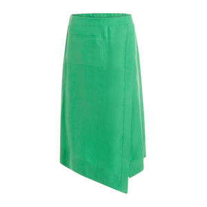 COSTER Skirt w. elastic band at back