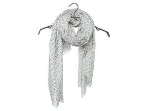 YAYA SCARF W/ PHOTO PRINT