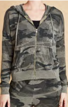 Load image into Gallery viewer, SPLENDID - CAMO TRACK JACKET