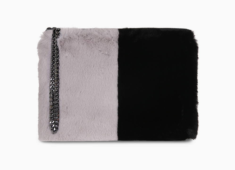 PAULS BOUTIQUE LONDON Stephanie - Grey / Black - The Kempton Collection