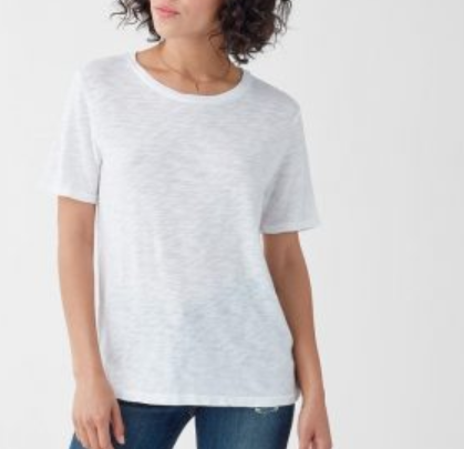 SPLENDID ZOE SHORT SLEEVE CREW NECK
