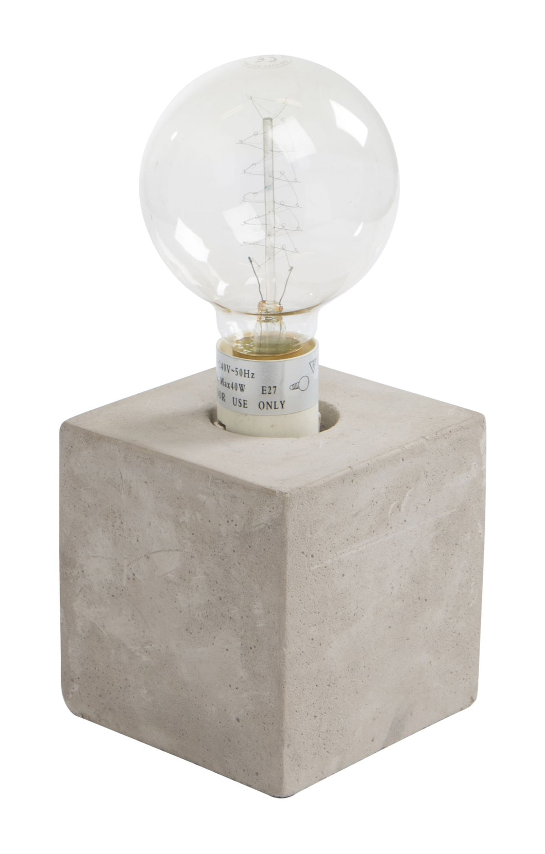 YAYA HOME CONCRETE TABLELAMP D12