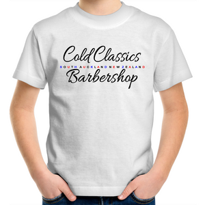 KIDS / YOUTH Cold Classics Barbershop SA NZ Tee