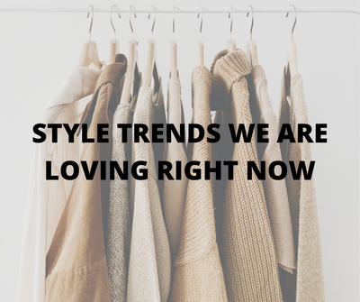 STYLE TRENDS TO START 2021