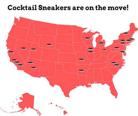 Cocktail Sneakers Retail Locations