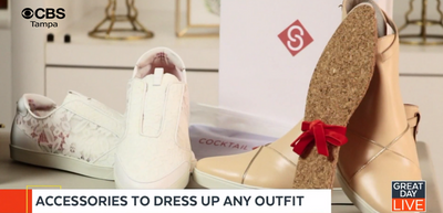Cocktail Sneakers Dress Up Any Outfit - CBS/Tampa