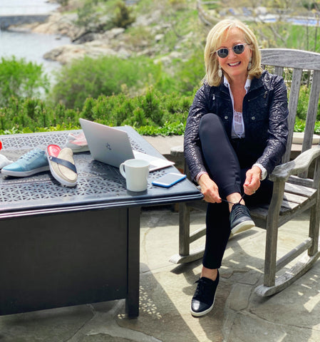 Cocktail Sneakers Founder Susan Hassett