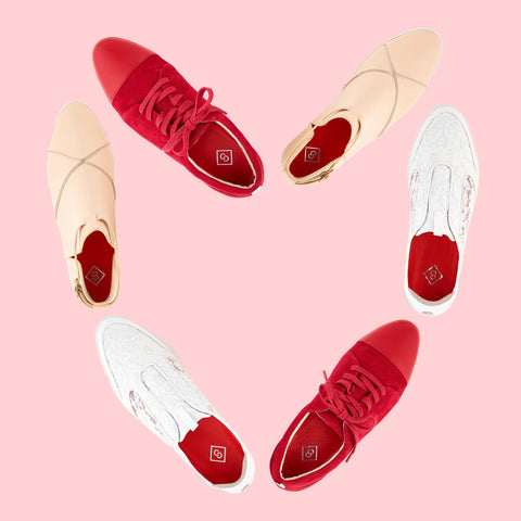 Cocktail Sneakers for Valentines Day