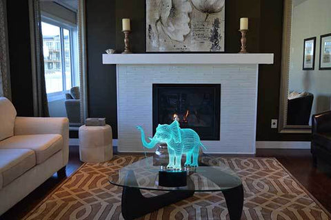 Elephant 3D Optical LED Illusion Lamp Elephant Lamp Elephant Night Light Elephant Light-Ellsworth Living