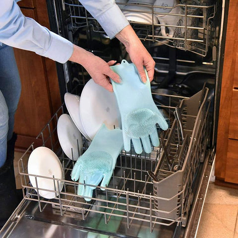 original magic dishwashing gloves