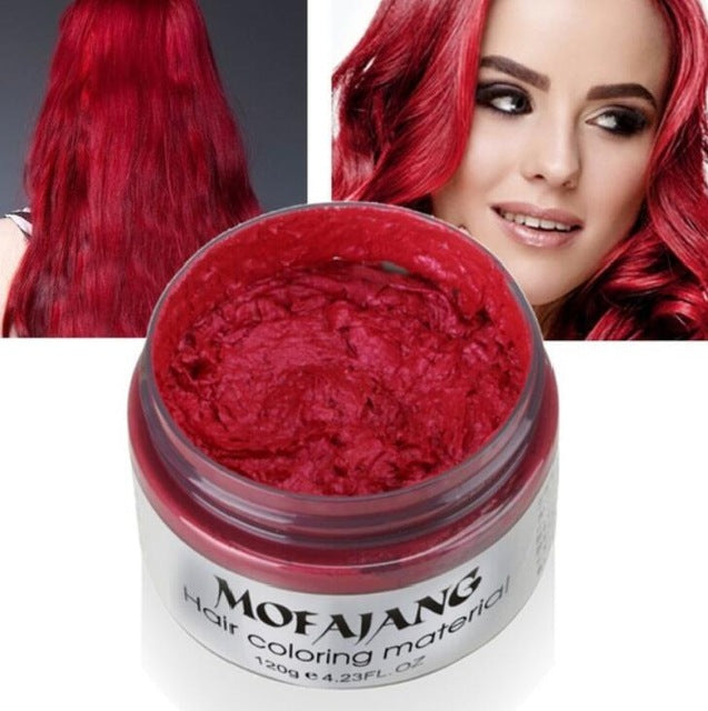 Instant Hair Coloring Wax