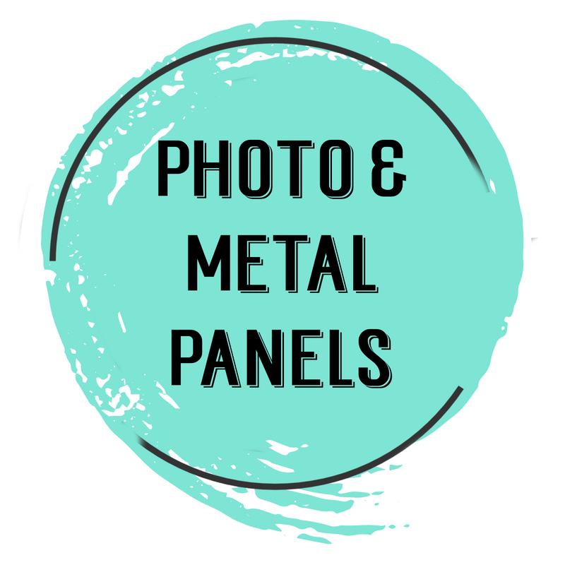Photo panels and metal panels