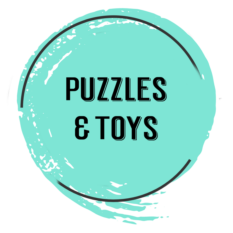 puzzles and toys