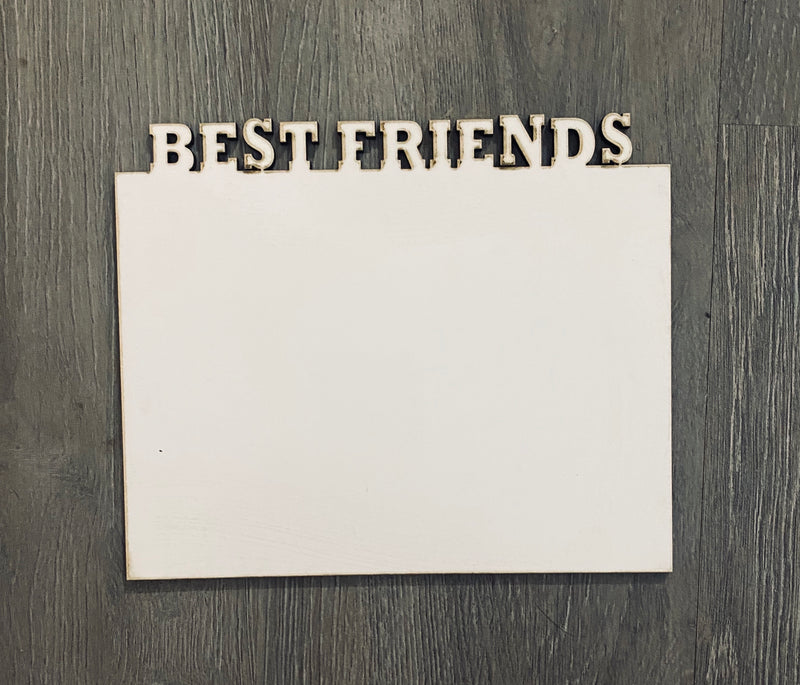 Best Friends Photo Panel