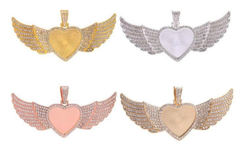 Heart Wing Necklaces