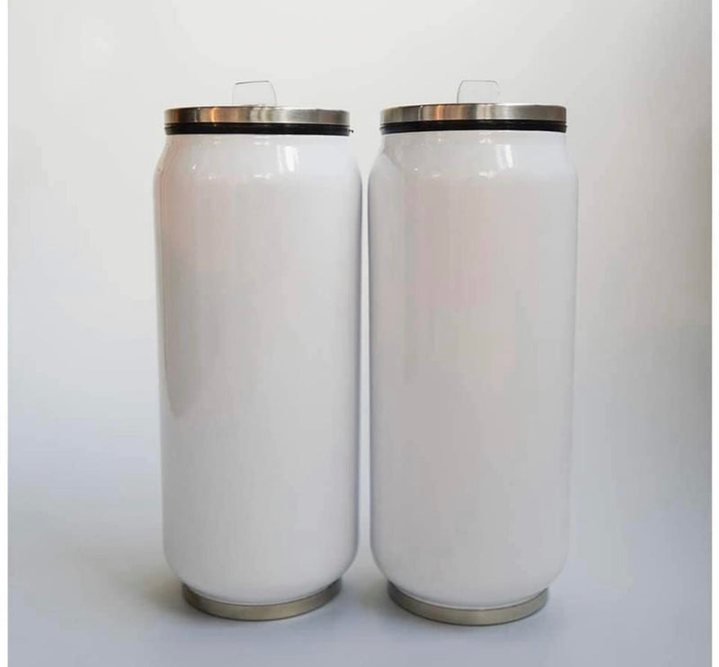 Soda Can Tumbler (With Straw)