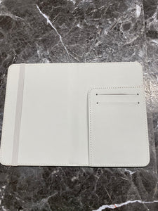 White Passport Holder