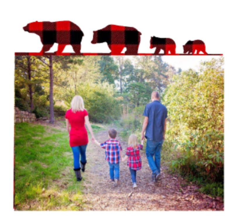 Bear Family Photo Panel