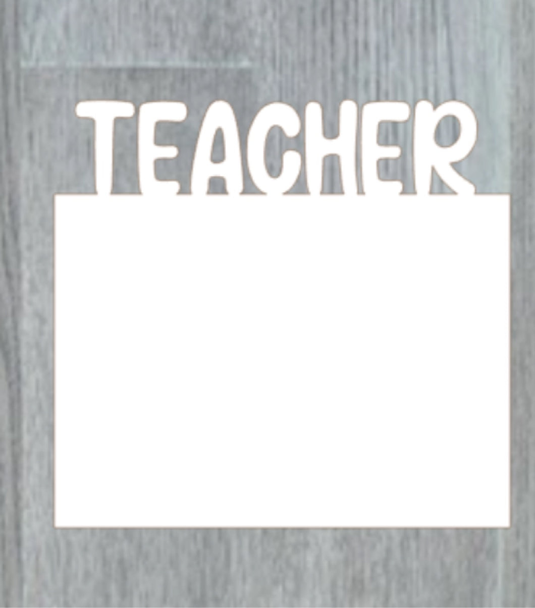 Teacher photo panel