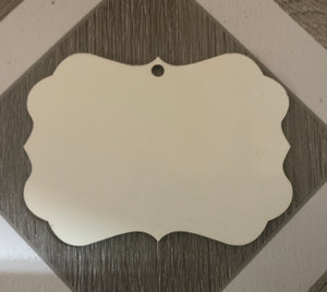 Benelux Ornament (Double Sided Mdf)