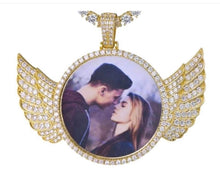 Load image into Gallery viewer, Angel Wing Necklace (Large)