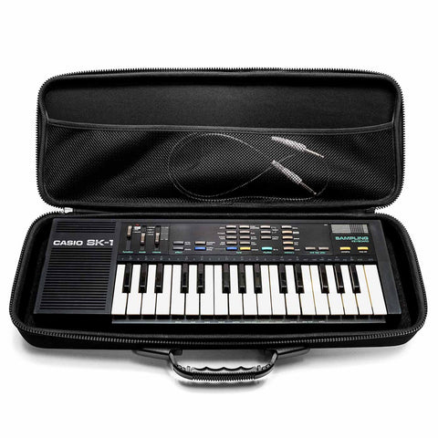 Casio SK-1 and SK-5 Case - Open With Keyboard