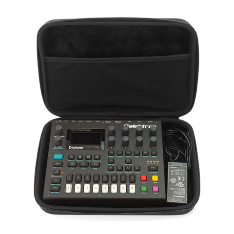 Elektron Digitakt or Digitone - Case open with Synth