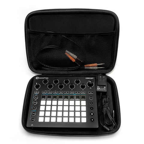 Novation Circuit Case - Open With Synthesizer