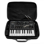 Arturia MicroFreak or MicroBrute Travel Case - Case open with synth