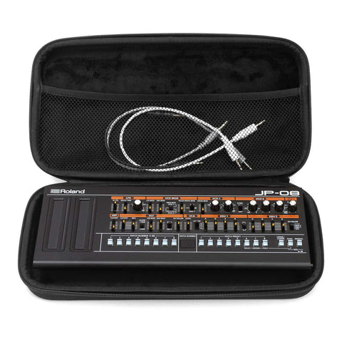 Roland Boutique Series Travel Case - Case Open With Synth