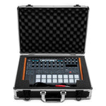 Dave Smith Tempest Travel Case - Case Open With Drum Machine
