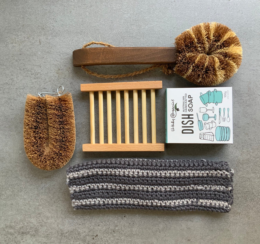 Eco Max Premium Wooden Dish Brush from The Ekologi Store, Sydney, Australia