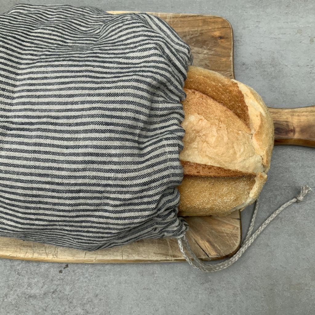 Linen Bread Bag from The Ekologi Store, Sydney, Australia
