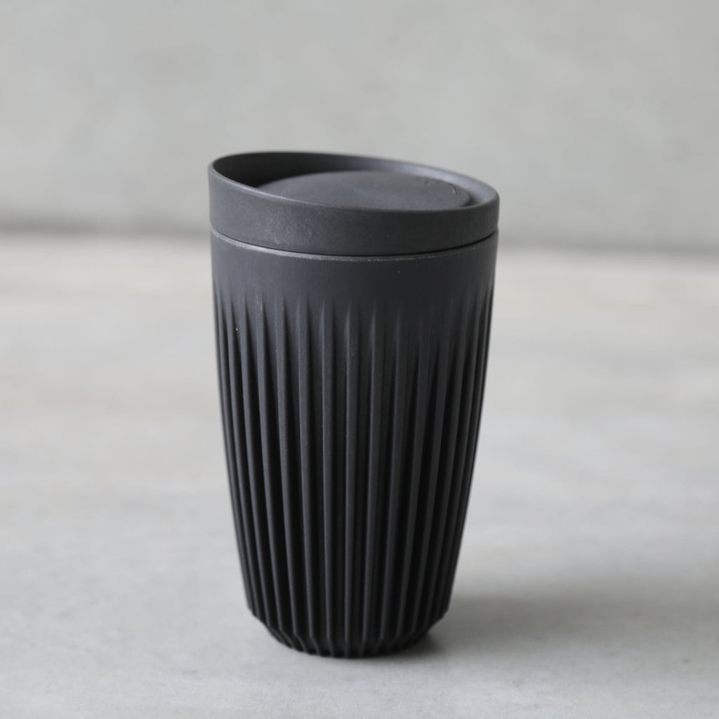 12 oz HuskeeCup reusable coffee cup from The Ekologi Store.