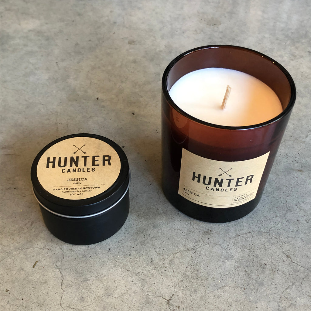 Hunter Candles from Asiki, Sydney, Australia