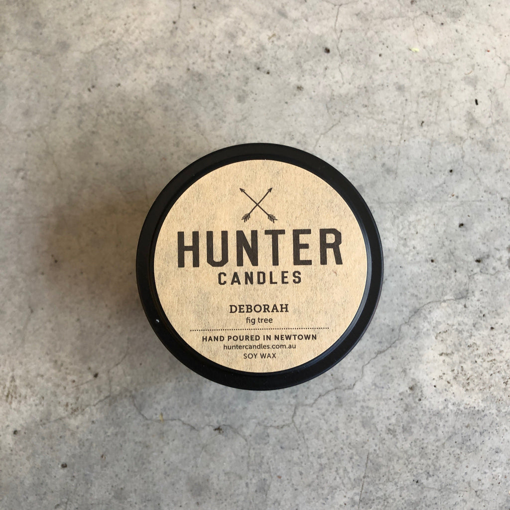 Hunter Candles Traveller Deborah from The Ekologi Store, Sydney, Australia