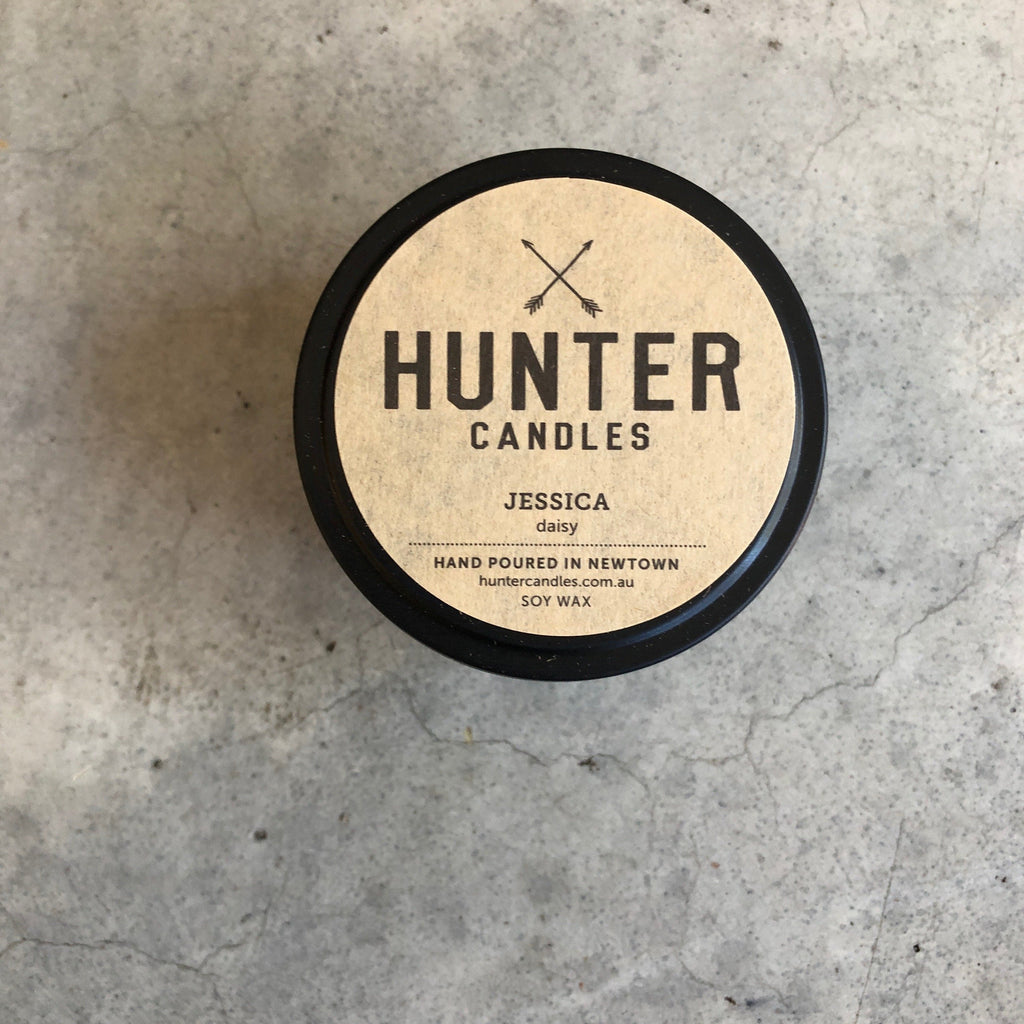 Hunter Candles Traveller Jessica from Asiki, Sydney, Australia
