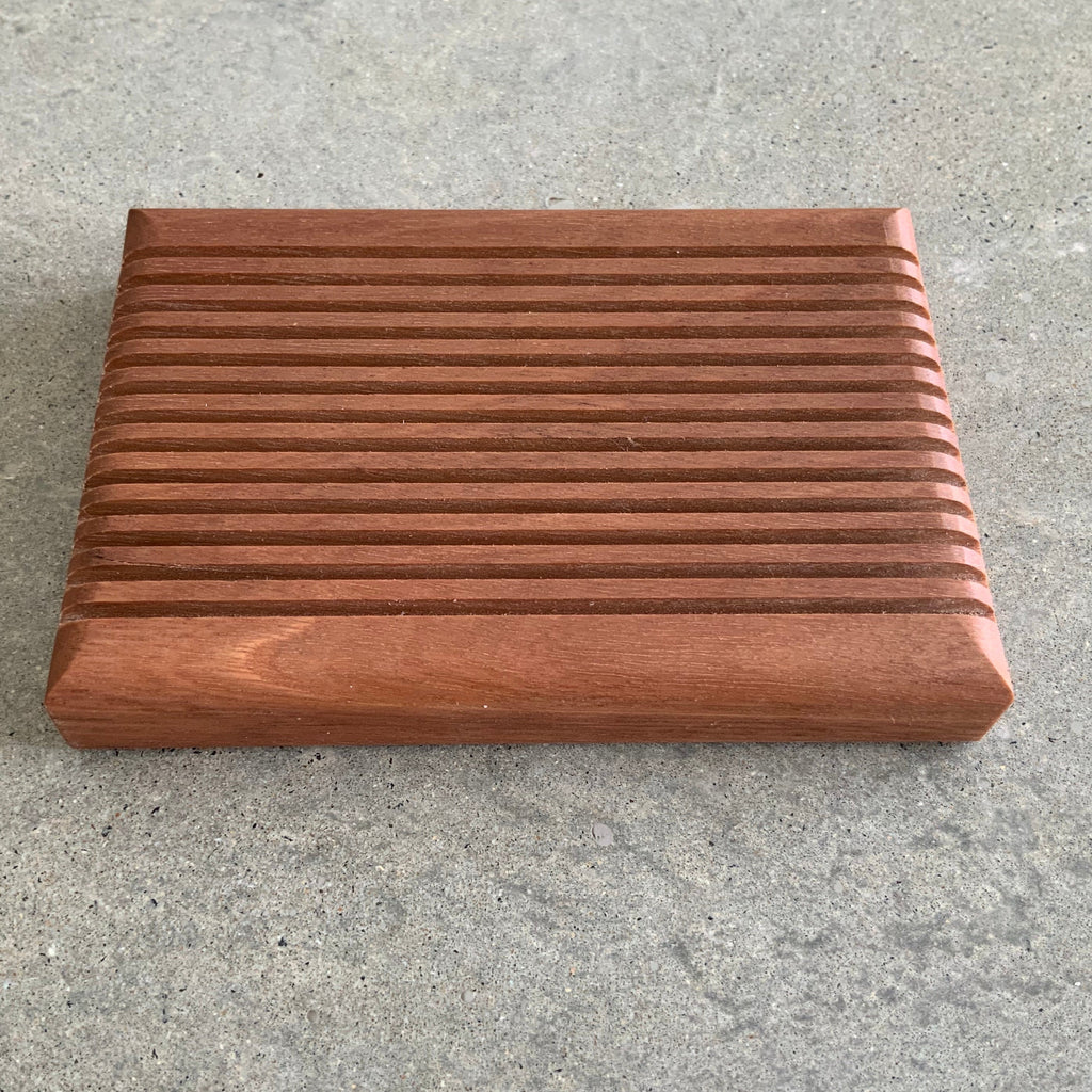 Handcrafted Wooden Soap Dish from Asiki, Sydney, Australia