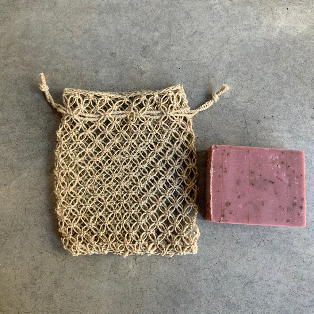 Hemp Soap Saver from The Ekologi Store, Sydney, Australia