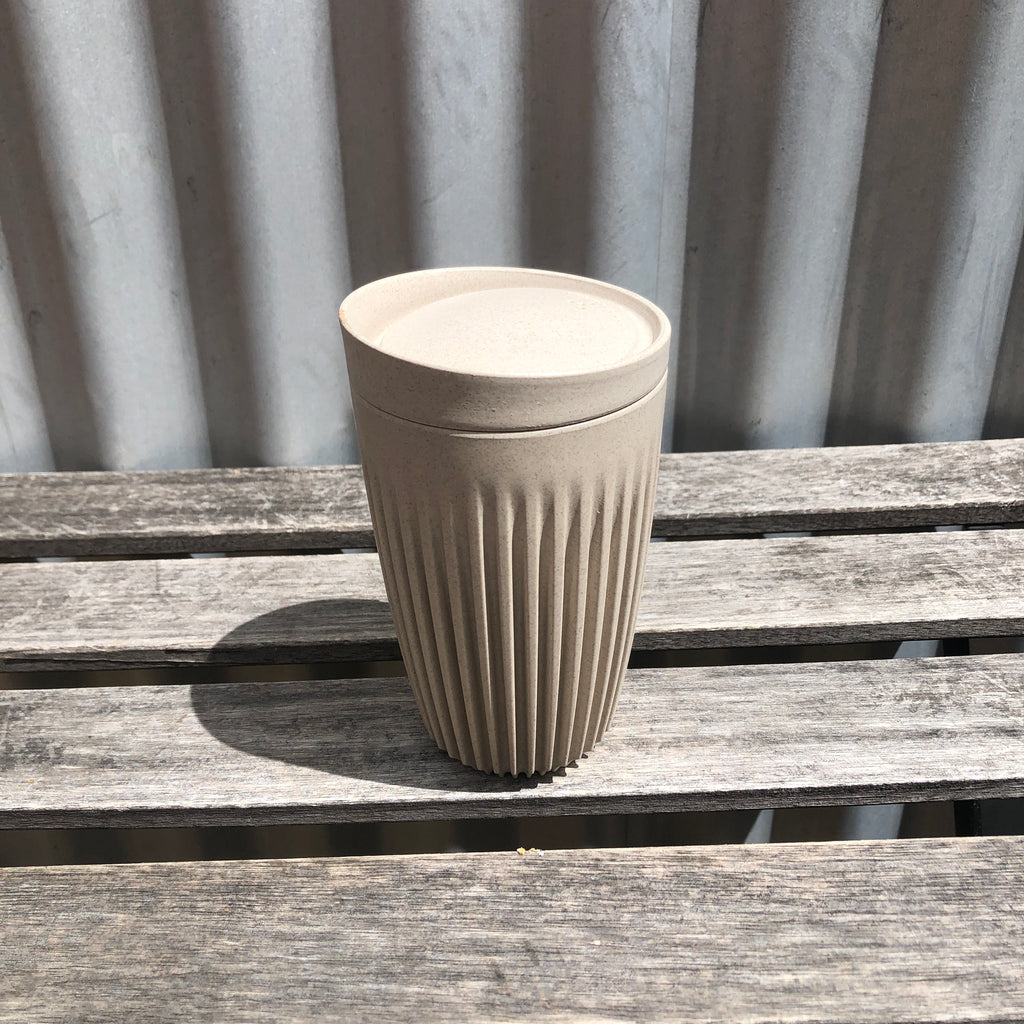 12 oz Natural Huskee Cups from Asiki, Erskineville, Sydney, Australia