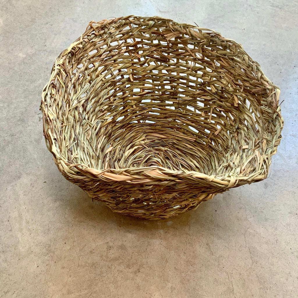 Basketboy Natural Woven Table Basket - Large