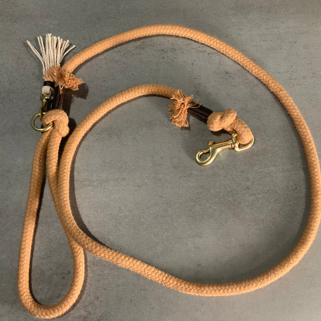 Organic Cotton Rope Dog Leash